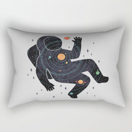 Inner Space Rectangular Pillow