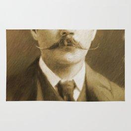 Sir Arthur Conan Doyle Rug