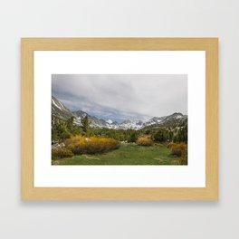 Eastern Sierras Framed Art Print