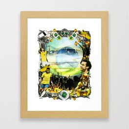 The World Cup 2014 - Brazilian Style Framed Art Print