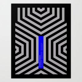 Impossible Symmetry - Cebra Art Print