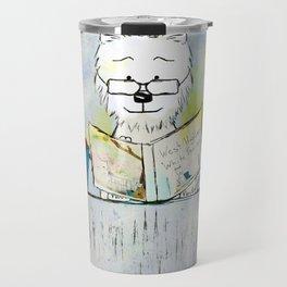 West Highland White Terrier ~ Westie ~ Sophisticated Wally ~ Ginkelmier Travel Mug