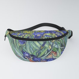 Irises by Vincent van Gogh Fanny Pack