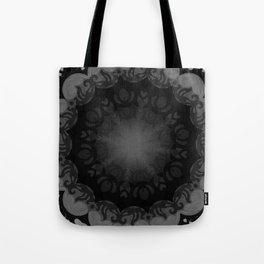 Dark Mandala #1 Tote Bag