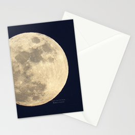CHRISTMAS EVE MOON Stationery Cards
