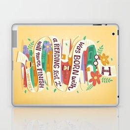 Reading list Laptop & iPad Skin