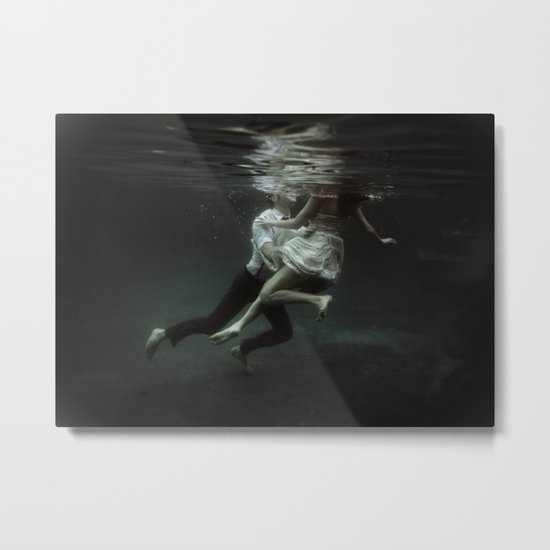 abyss of the disheartened : VII Metal Print