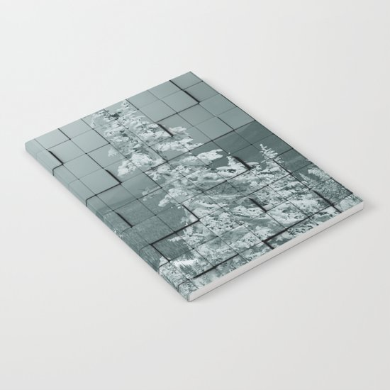 Winter collage Notebook
