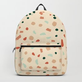 Earthy terazzo Backpack