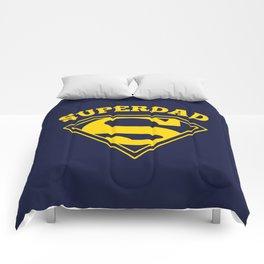 Superdad | Superhero Dad Gift Comforters