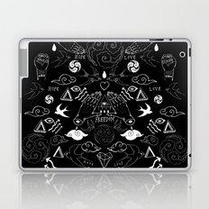 Freedom inked icons Laptop & iPad Skin