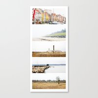 denmark Canvas Prints featuring Denmark by Delphine Comte