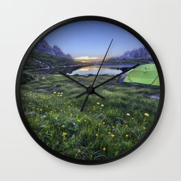 Lavaredo Trail Dolomites Wall Clock