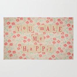 You Make me Happy Rug