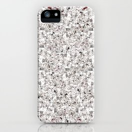 Rouge Puddle iPhone Case