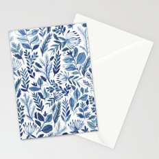 indigo scatter Stationery Cards