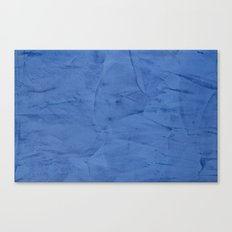 Light Blue Stucco Canvas Print