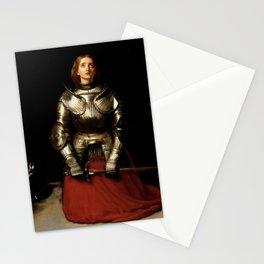 """Joan of Arc"" by Sir John Everett Millais  Stationery Cards"