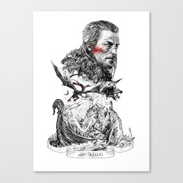 Ard Skellig - Witcher Canvas Print