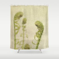 fern Shower Curtains featuring Fern by Pure Nature Photos
