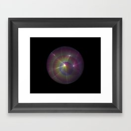 Light of a Different World Framed Art Print