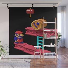 Inside Donkey Kong Wall Mural