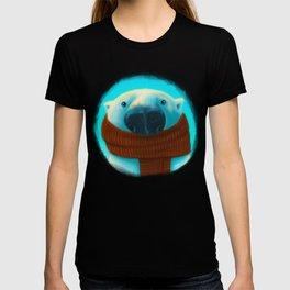 Polar bear with scarf T-shirt