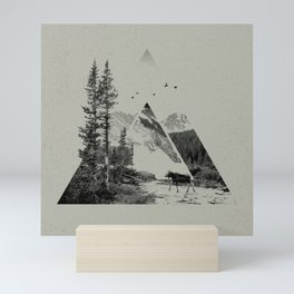 Natural Shapes Mini Art Print