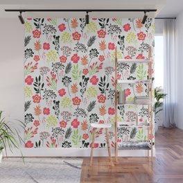 Florals. Joyful flowers. Wall Mural