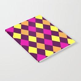 Purple Argyle Notebook