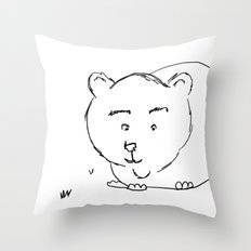 Bear McBear Throw Pillow