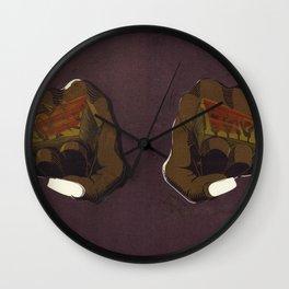 LoveHate Wall Clock