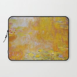 Claude Monet - Water Lilies in Giverny Laptop Sleeve