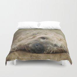 Wheaten Terrier - Let Sleeping Dogs Lie Duvet Cover
