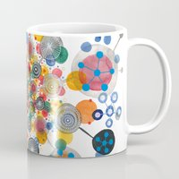 fireworks Mugs featuring Fireworks by Asja Boros