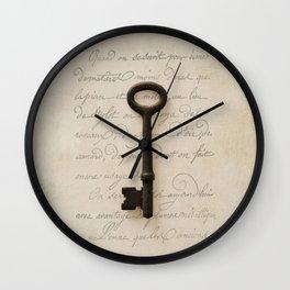 Solo Key Script Wall Clock