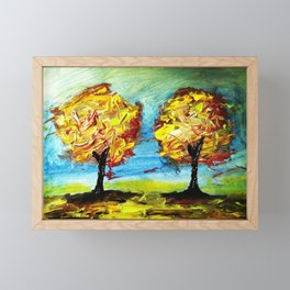 Double Trouble Framed Mini Art Print