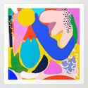 Unbridled Enthusiasm - Shapes and Layers no.38 by sewzinski
