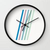 brooklyn Wall Clocks featuring Brooklyn by Magic Window