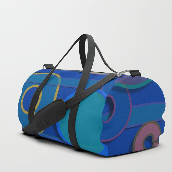 Abstract #21 Duffle Bag