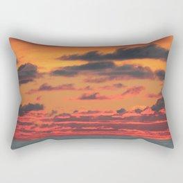 Arctic Sunset Rectangular Pillow