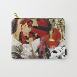 JAPANESE COLLAGE Carry-All Pouch