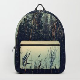 Evening in the fields Backpack