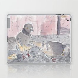 Portland Pigeons - Big Pink Laptop & iPad Skin
