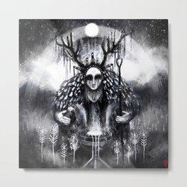 Hælsera - the Oracle Metal Print