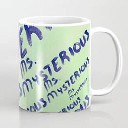 Ms. Mysterious Coffee Mug