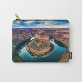 Horseshoe Bend at Sunset Carry-All Pouch