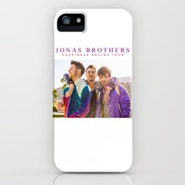 jonas brothers happiness tour 2019 nontongame iPhone Case