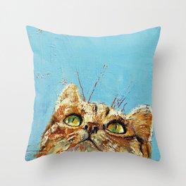 Tomcat Throw Pillow