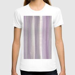 Purple Gray Watercolor Dream #1 #painting #decor #art #society6 T-shirt